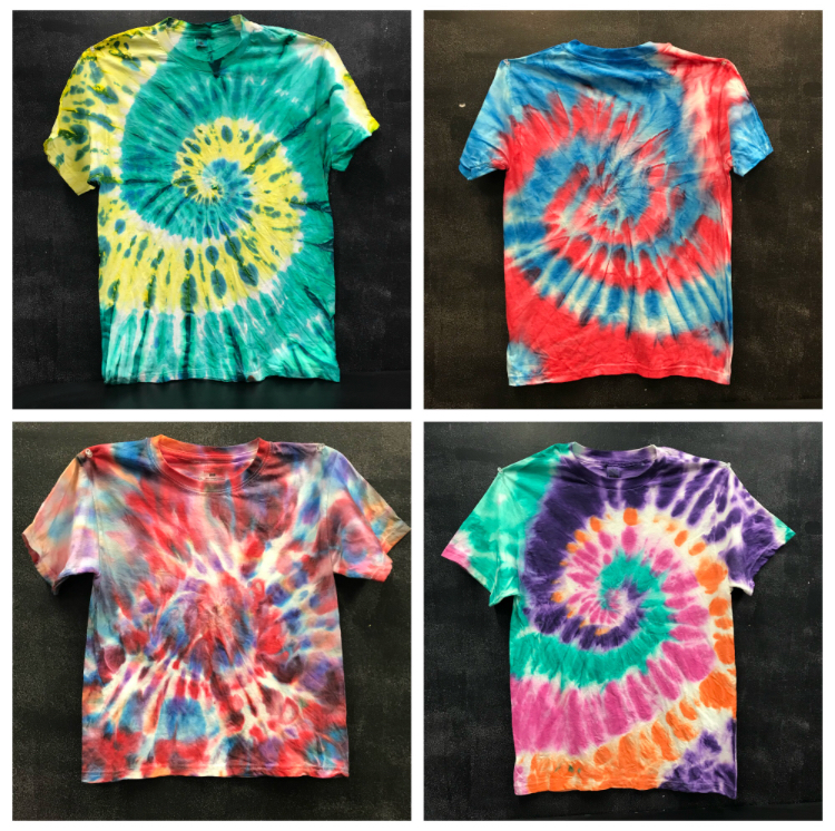Tie Dye Tuesday Do It Yourself Crafts