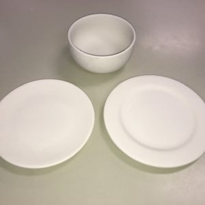 Pottery To Go – Salad plates and cereal bowls
