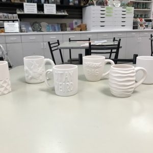 Pottery To Go – Specialty Mugs