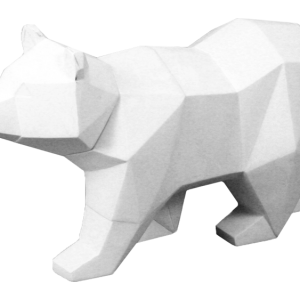 Faceted Bear
