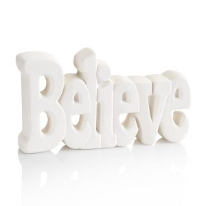 Word Plaque – Believe