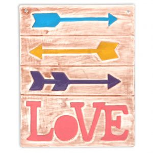 Plaque – Love and Arrows