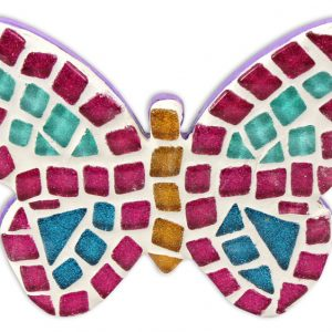 Mosaic Butterfly Plaque Kit